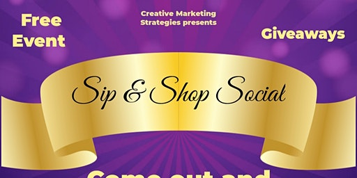 2nd Annual Sip & Shop Social