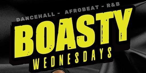 BOASTY WEDNESDAYS (Reggae, Afrobeat, R&B, Reggaeton)