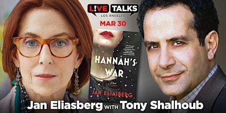 Jan Eliasberg in conversation with Tony Shalhoub  tickets