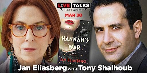 Jan Eliasberg in conversation with Tony Shalhoub