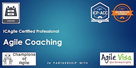 Agile Coaching Masterclass (ICP-ACC) tickets