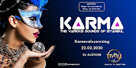 KARMA Cologne - The various sounds of Istanbul. tickets