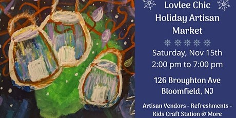 Lovlee Chic Holiday Artisan Market tickets