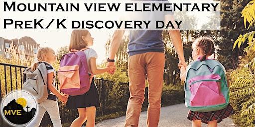 PreK/Kindergarten Discovery Day