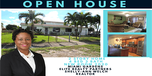 Open-House Elite Realty Miami Gardens