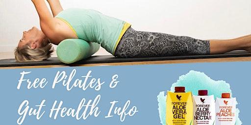 FREE Pilates Mat Class, Gut Health Info and Tastings