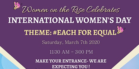 Women on the Rise; International Women's Day tickets