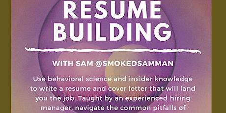 Resume Building tickets