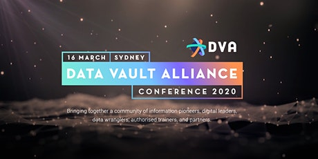 Data Vault Alliance Conference 2020 tickets