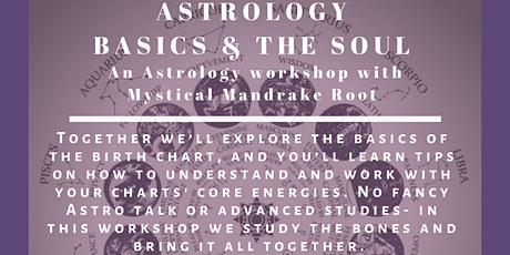 Astrology Basics and the Soul: An Astrology workshop tickets