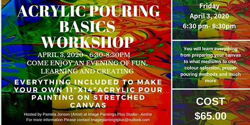 Acrylic Pouring Basics Workshop