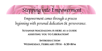 Stepping into Empowerment - Complimentary Introduc