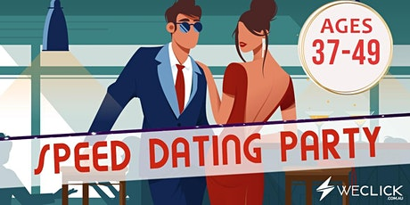 Speed Dating & Singles Party   ages 37-49   Melbourne tickets