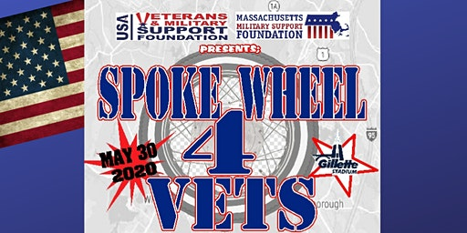 Spoke Wheel 4 Vets Motorcycle Event With Car Show
