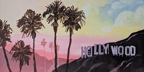 Hollywood Cityscape	   Sip 'N Paint tickets
