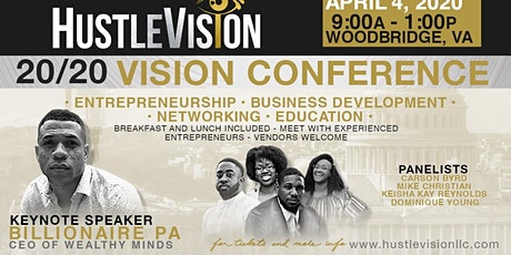 HustleVision 20/20 Conference tickets