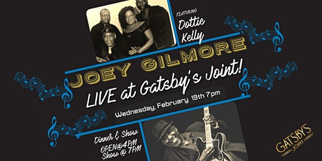 Joey Gilmore Band LIVE at Gatsby's Joint tickets