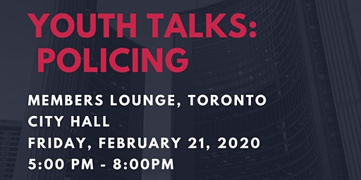 Youth Talks: Policing