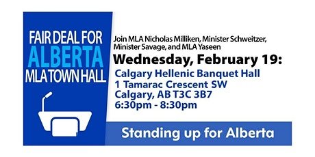 Fair Deal Town Hall, Calgary SW-NW tickets