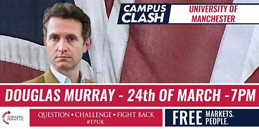 Douglas Murray at Manchester University - TPUK Live Event