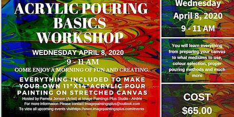 Acrylic Pouring Basics Workshop tickets