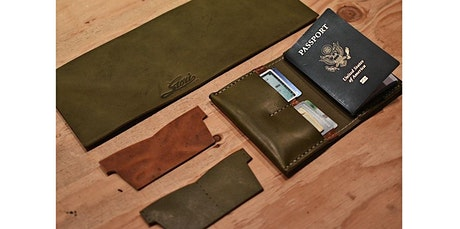 Craft a Leather Passport Wallet with Stori Dry Goods (03-29-2020 starts at 1:00 PM) tickets