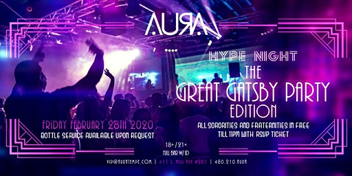 Hype Night @ Aura Nightclub
