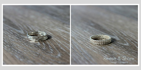 POSTPONED! Sterling Silver Stacking Rings Tutorial tickets