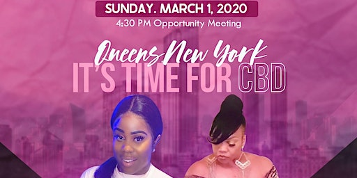 QUEENS NEW YORK ITS TIME FOR CBD!