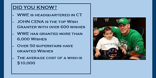 Make A Wish CT - Help Grant A WWE Wish Fundraiser