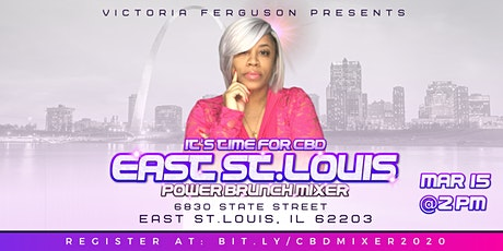 It's Time for CBD East St. Louis Power Brunch Mixer tickets