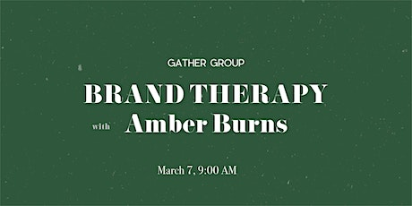 Brand Therapy with Amber Burns tickets