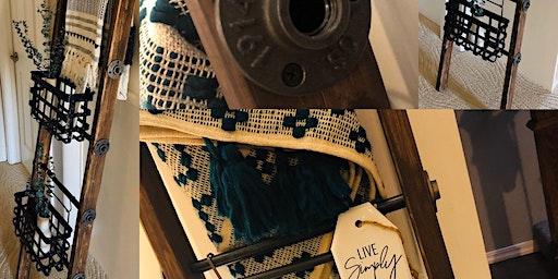 Blanket Ladder DIY Workshop