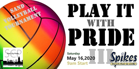 Play it with Pride 3 - Star City Pride Volleyball Tourney tickets