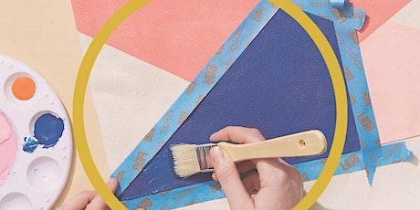 Tote bag painting workshop tickets