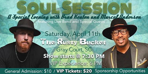 Soul Session - A Special Evening with Brad Keaton and Marcel Anderson