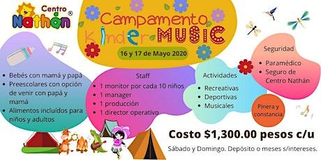 Campamento Kinder Music boletos