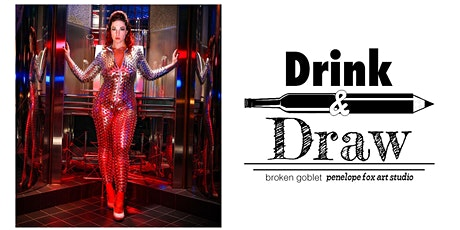 Drink and Draw at Broken Goblet tickets