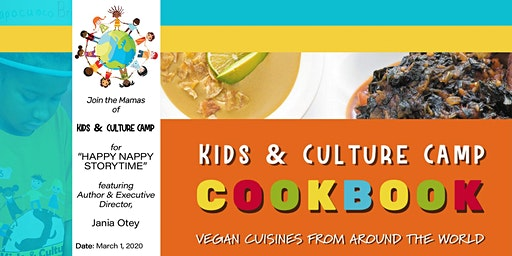 Kids & Culture Camp: Free Cooking Demo,  Storytime, Crafts, & Book Signing