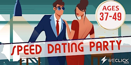 Speed Dating & Singles Party | ages 37-49 | Canberra tickets