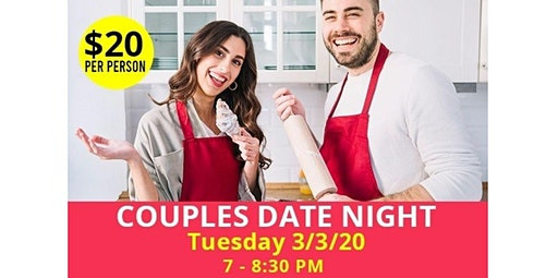 PUBLIC EVENT: Couples date night with certified financial services open to the public (03-03-2020 starts at 7:00 PM)