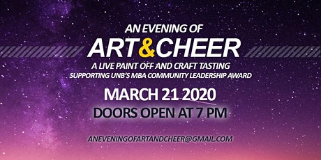 An Evening of Art and Cheer 2020 tickets