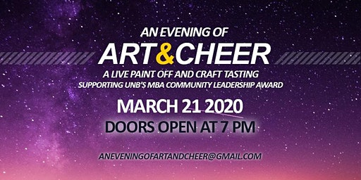 An Evening of Art and Cheer 2020