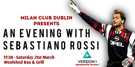 An Evening With AC Milan Legend SEBASTIANO ROSSI tickets