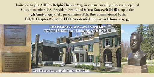 AHEPA #25  Commemorating 75th Anniversary of the Presentation of FDR Statue