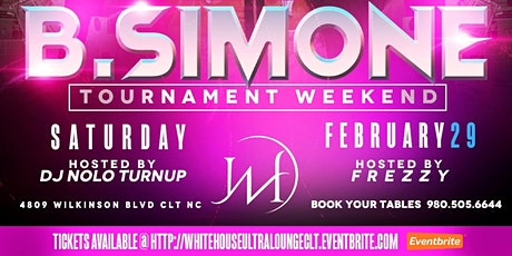 @White House Ultra Lounge Social Saturdays CI weekend! B. Simone tickets