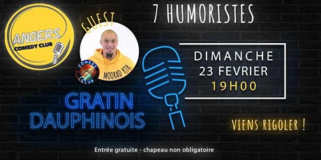 ANGERS COMEDY CLUB #12 billets