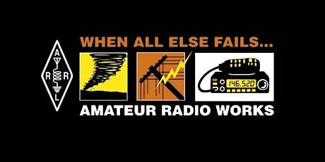 Amateur Radio Testing Session tickets