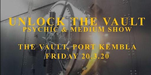 Unlock The Vault - Psychic & Medium Show
