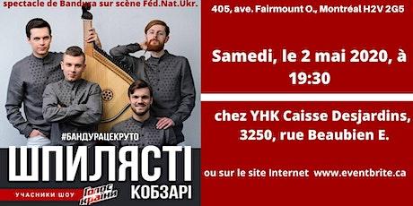 "SHPYLYASTI KOBZARI""Montreal Live Bandura Show"" tickets"